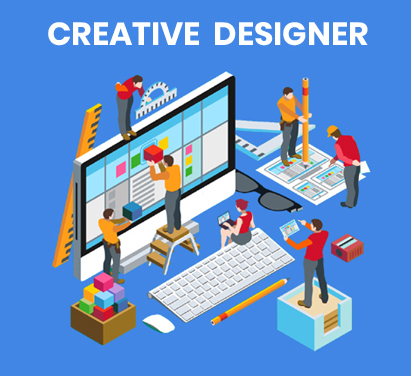 Creative team of designers